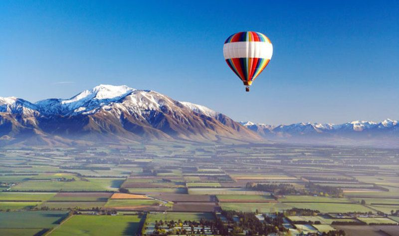 13 Day New Zealand Getaway Hot Air Balloon