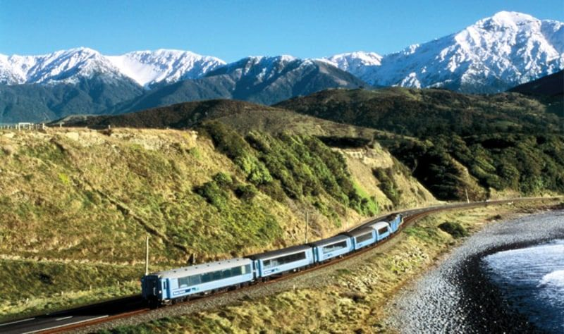 13 Day New Zealand Getaway Train