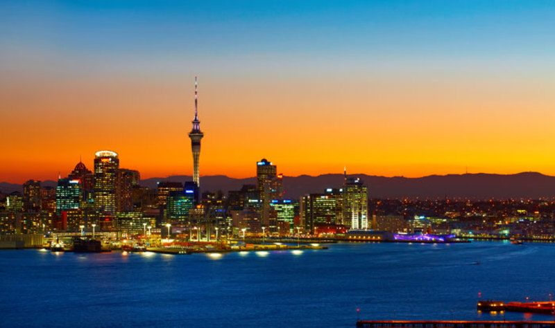 13 Day New Zealand Getaway Cityscape